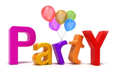 party with balloons image