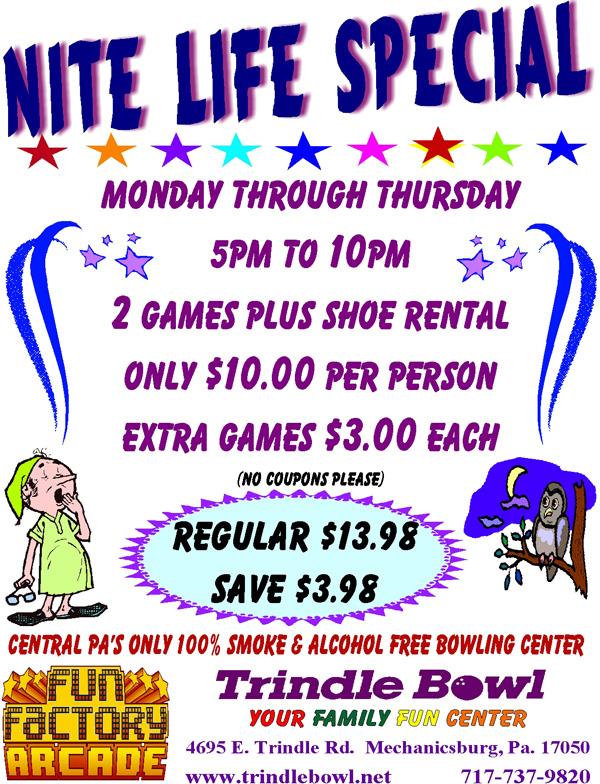 nite life specials