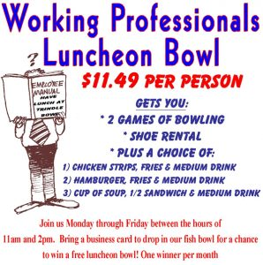Working Professionals Luncheon Bowl