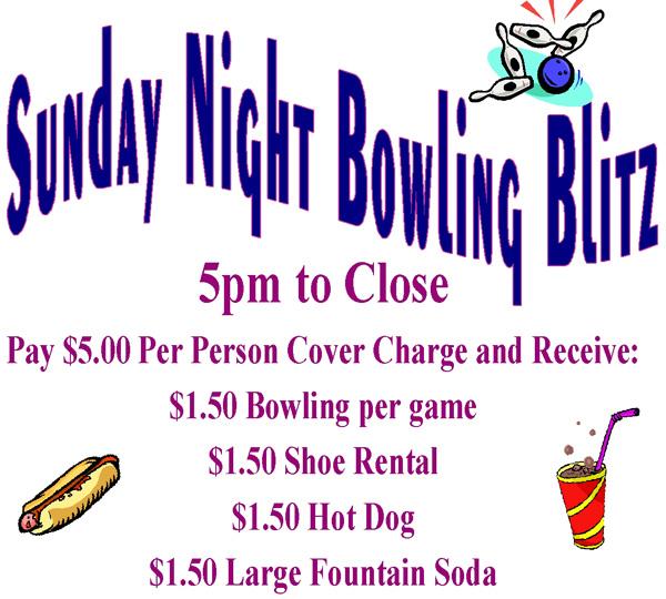 sun night bowling blitz