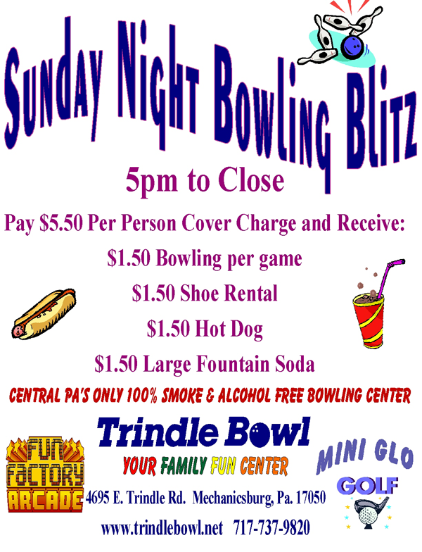 sun bowling blitz special
