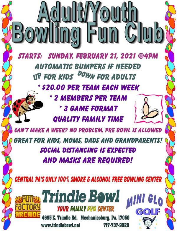 youth fun bowling club